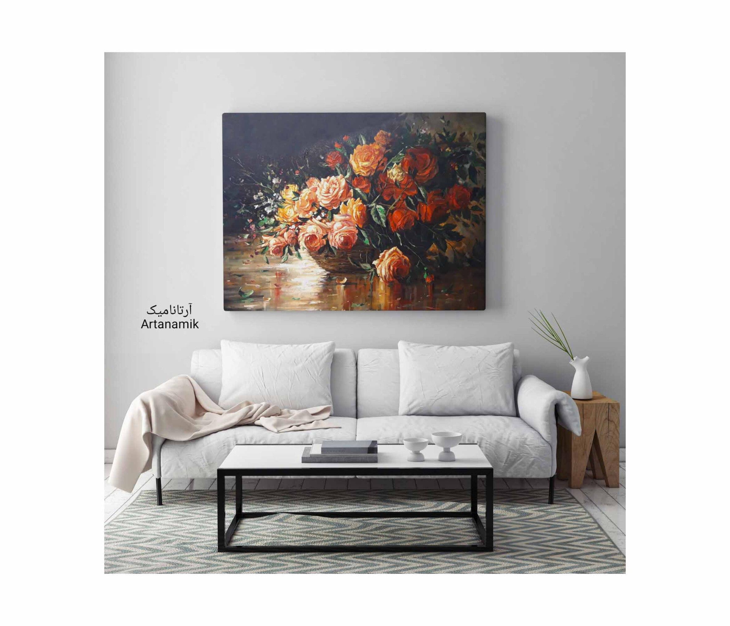 تابلو نقاشی رنگ روغن، تابلو نقاشی کادویی، تابلو نقاشی دکوری