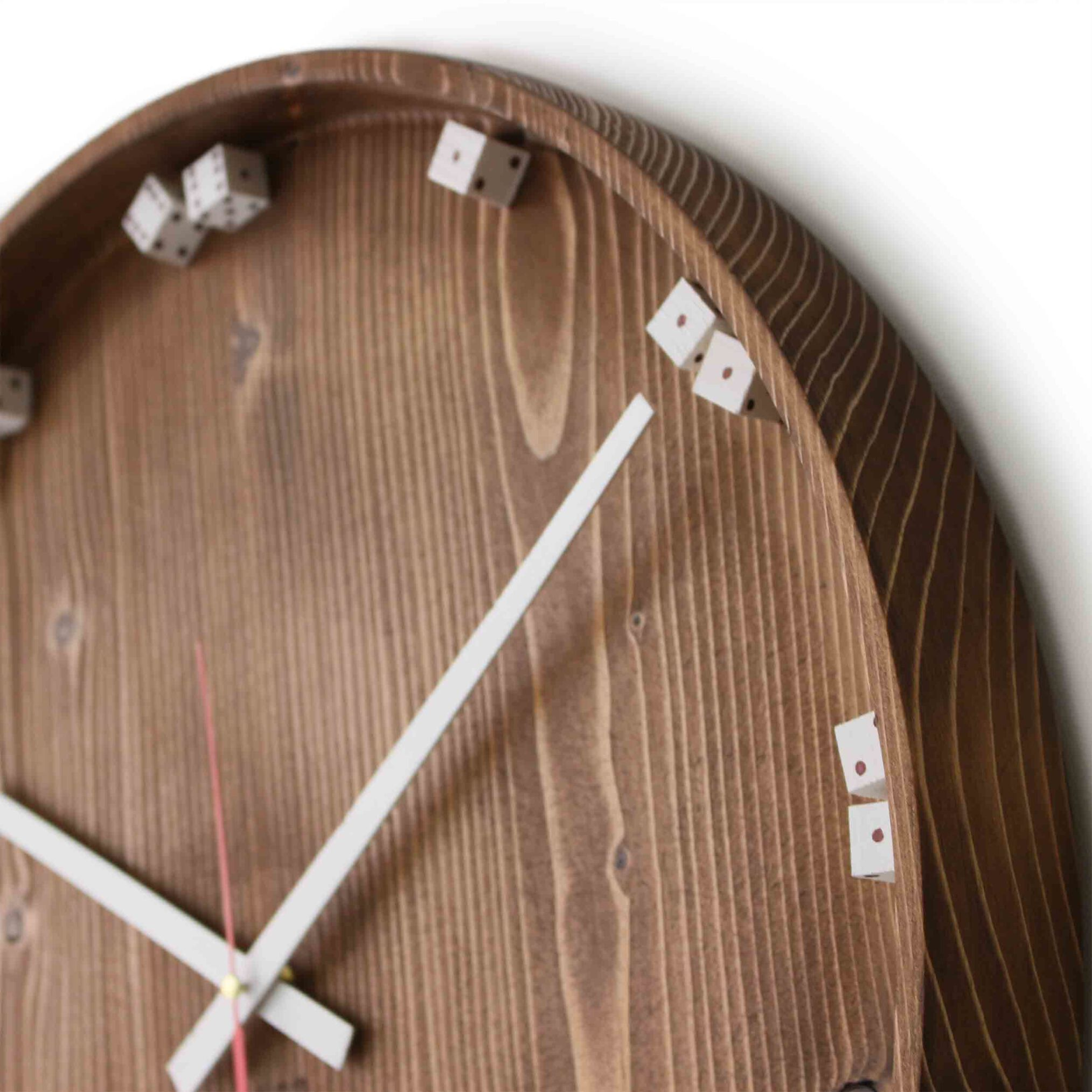 ساعت تمام چوب روس مدل تاس، ساعت چوبی ، ساعت کادویی