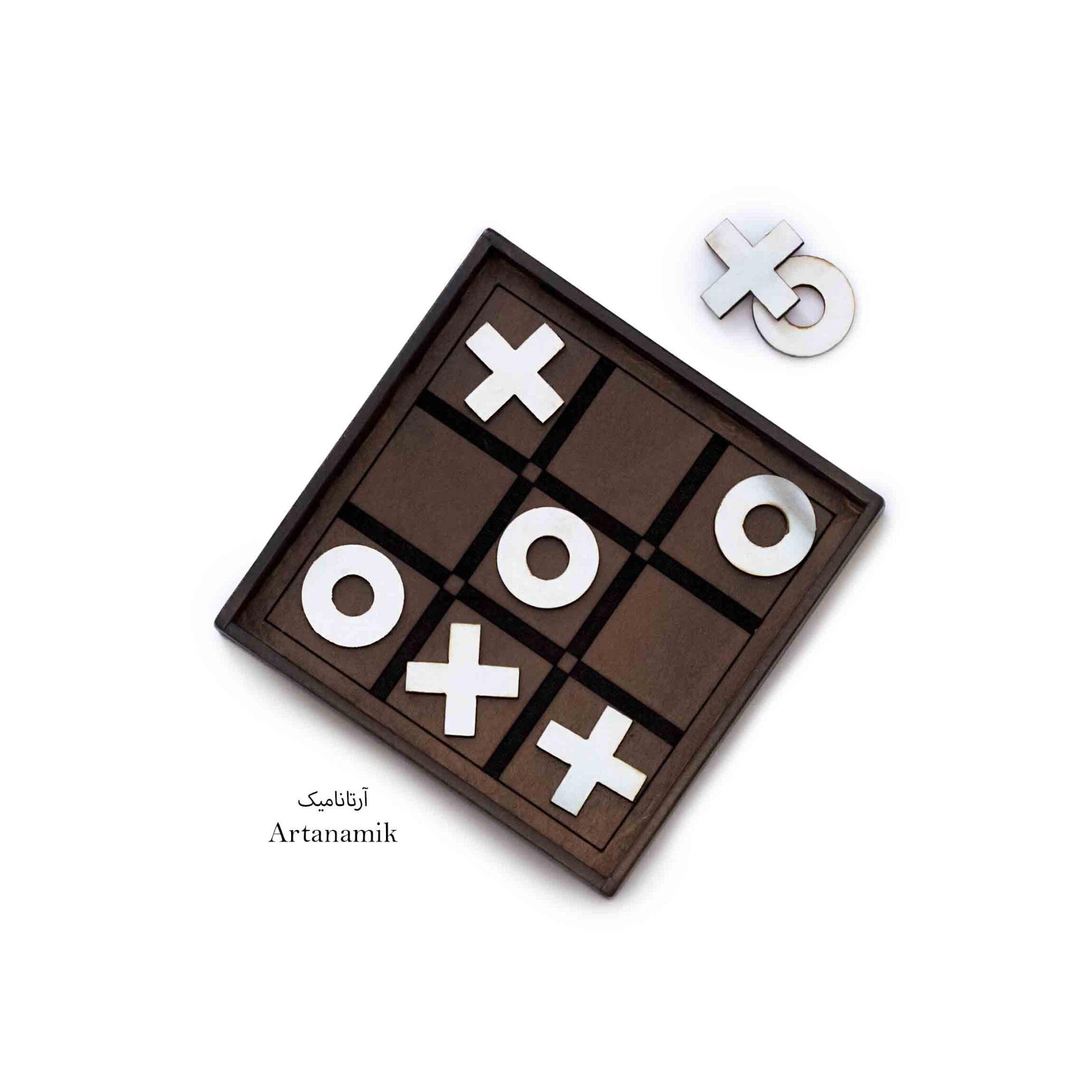 باکس شامل 6 بازی : شطرنج ، منچ ، دومینو ، دوز ، کارت ، تخته نرد.