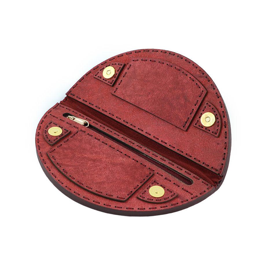 کیف پول چرم طبیعی مدل فانتزی