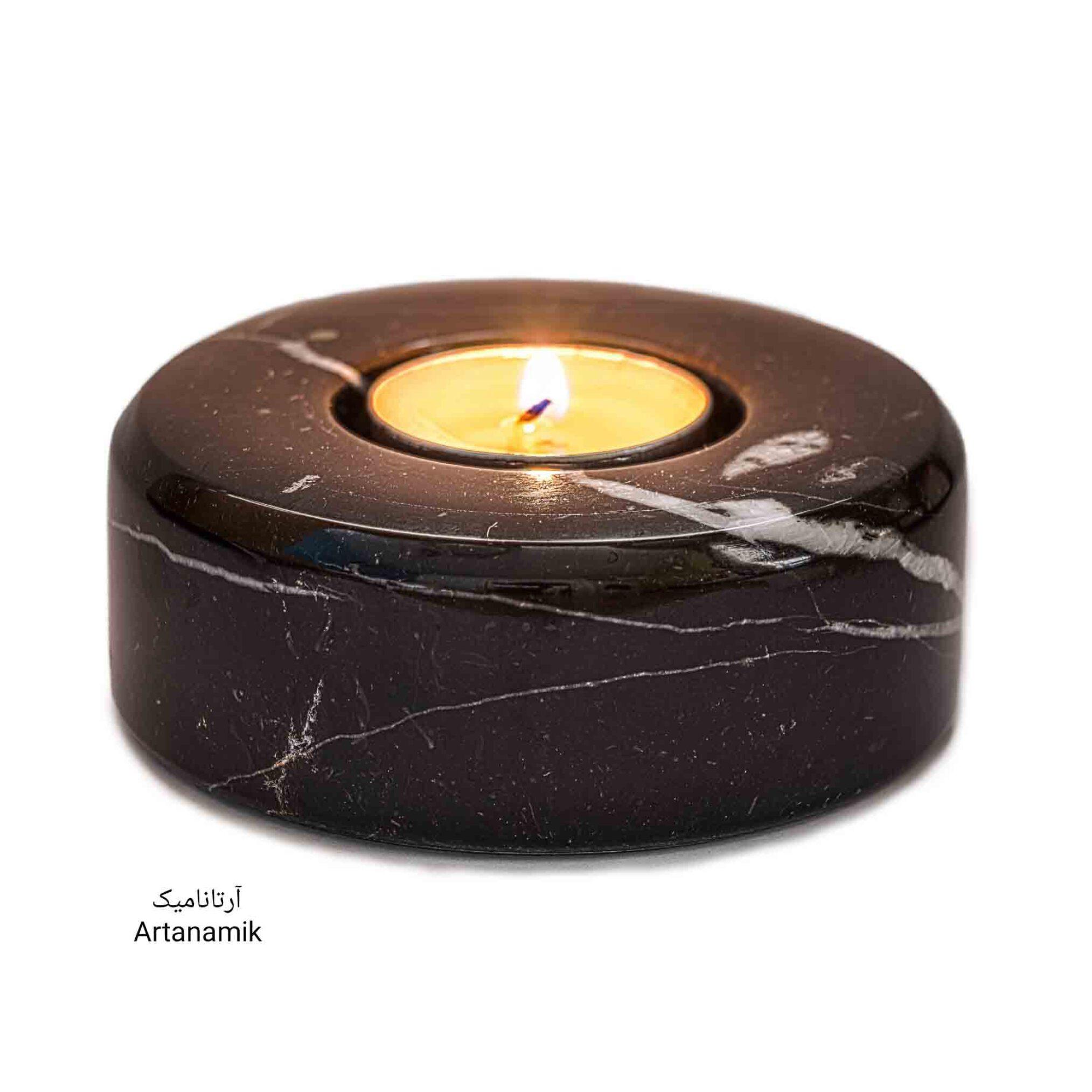 شمعدان سنگی مخصوص شمع وارمر، شمعدان دکوری