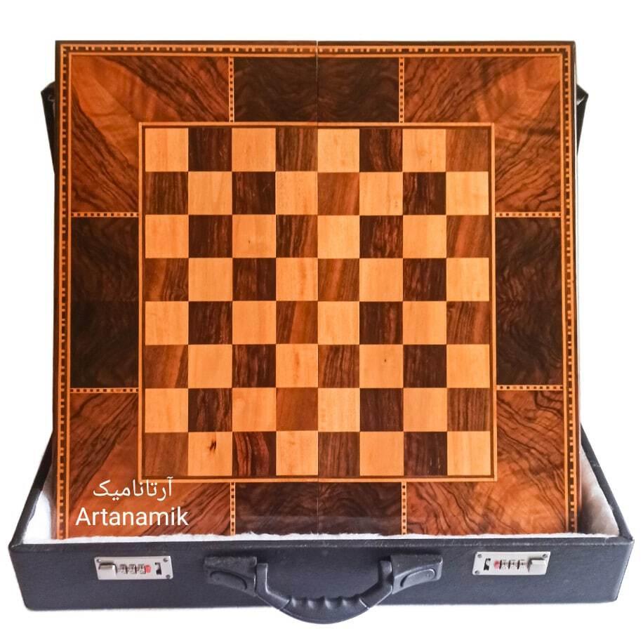 تخته نرد و شطرنج کادویی، تخته نرد کادویی و تخته نرد نفیس چوب گردو