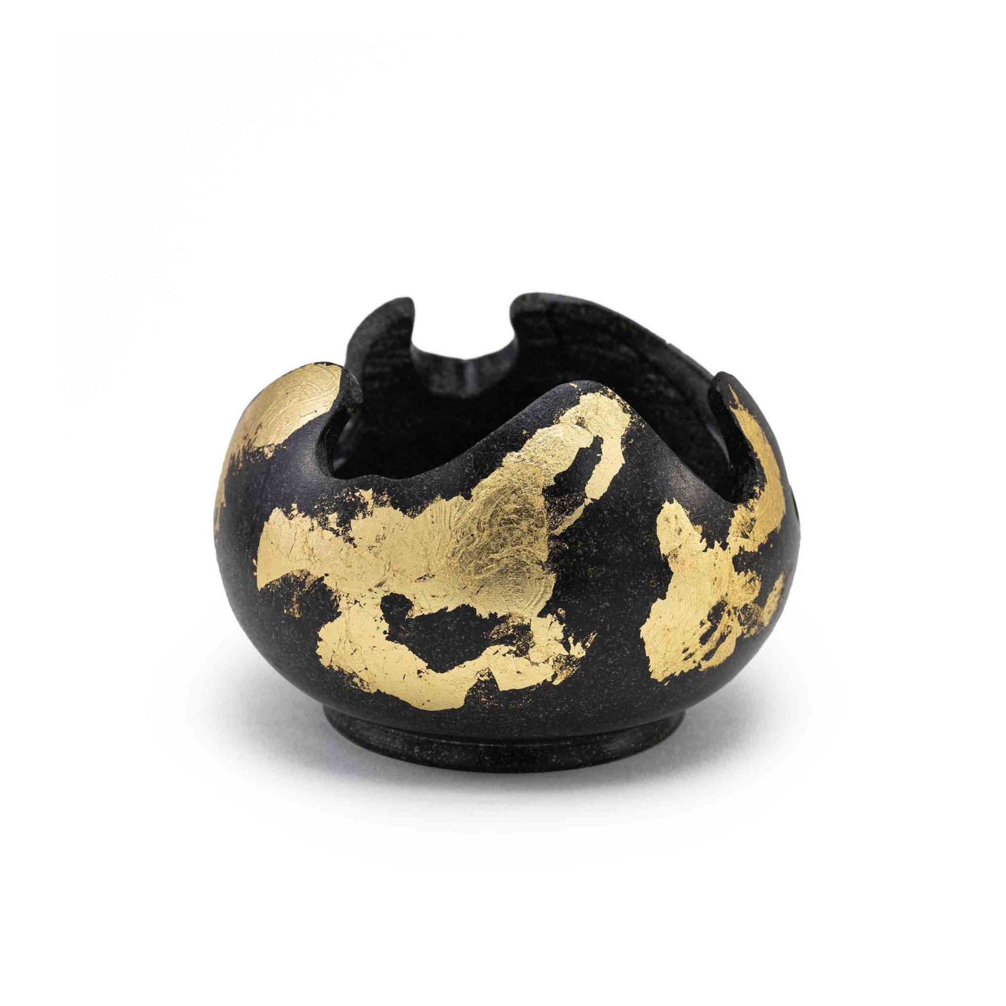 شعمدان سنگی ساخته شده از سنگ سرپانتین، شمعدان دکوری و شمعدان کادویی