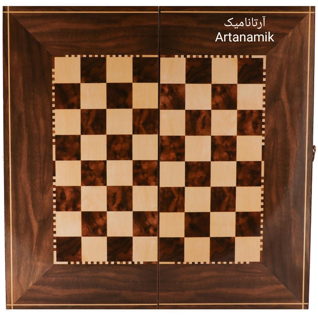 شطرنج کادویی، شطرنج نفیس از جنس چوب روس