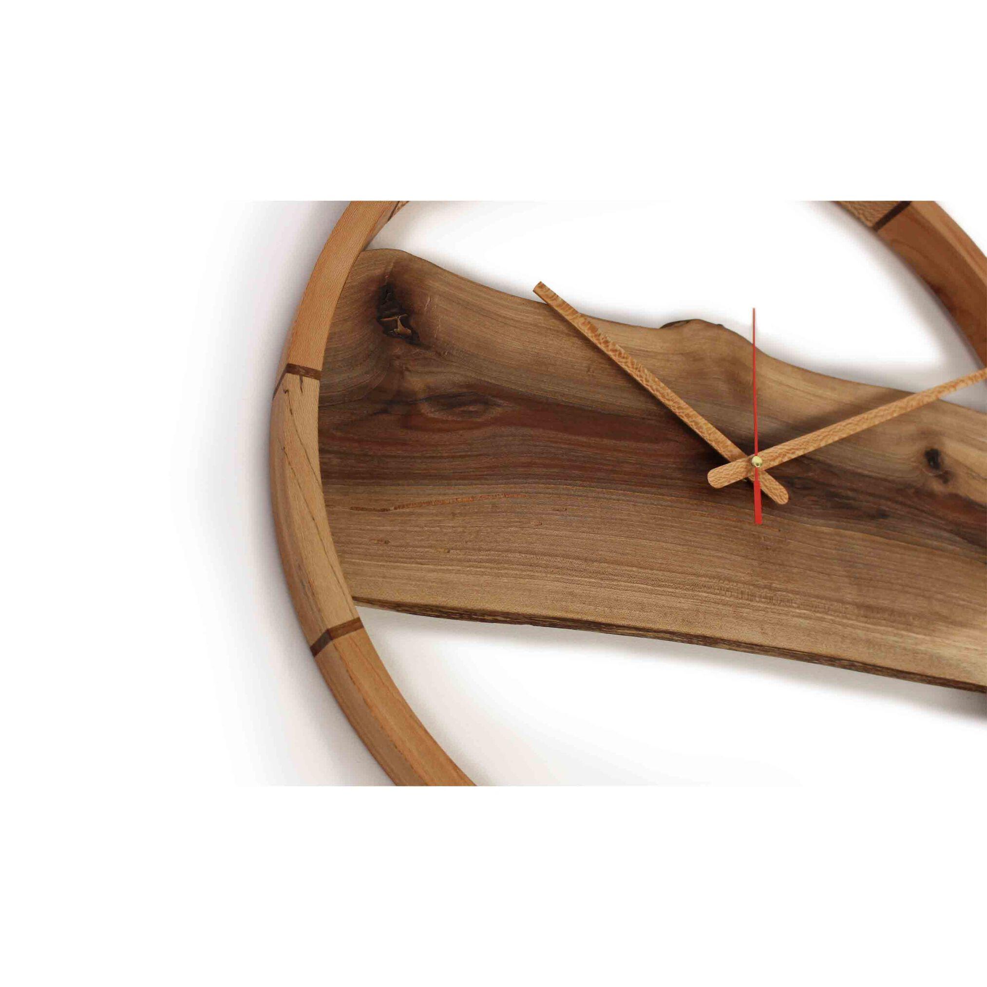ساعت چوبی رینگ تمام چوب، ساعت کادویی