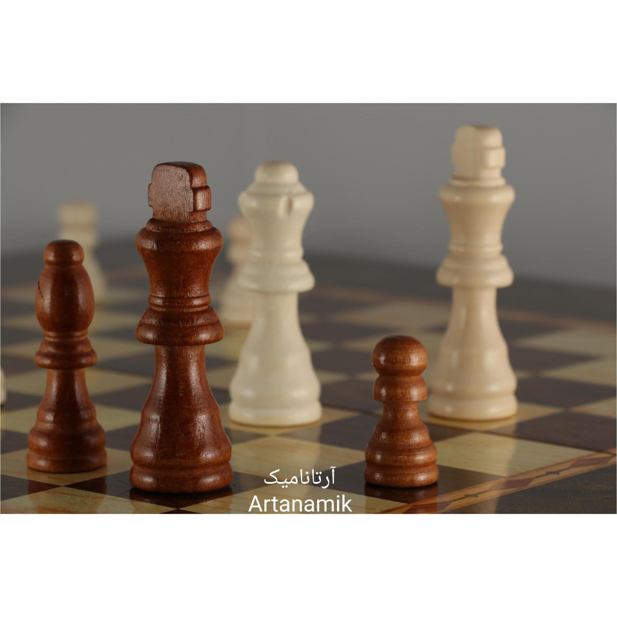 مهره شطرنج چوبی