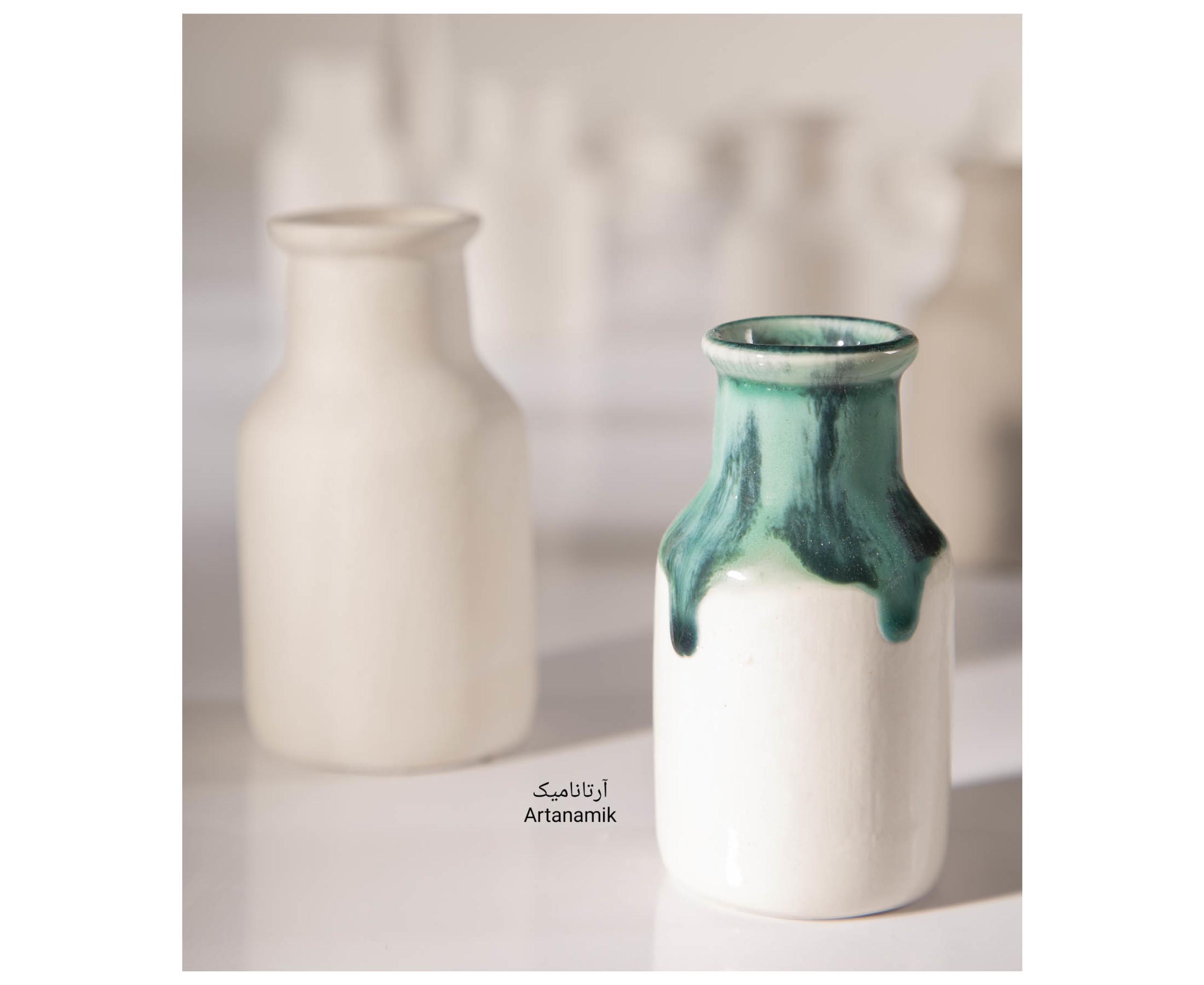 گلدان سرامیکی-بطری