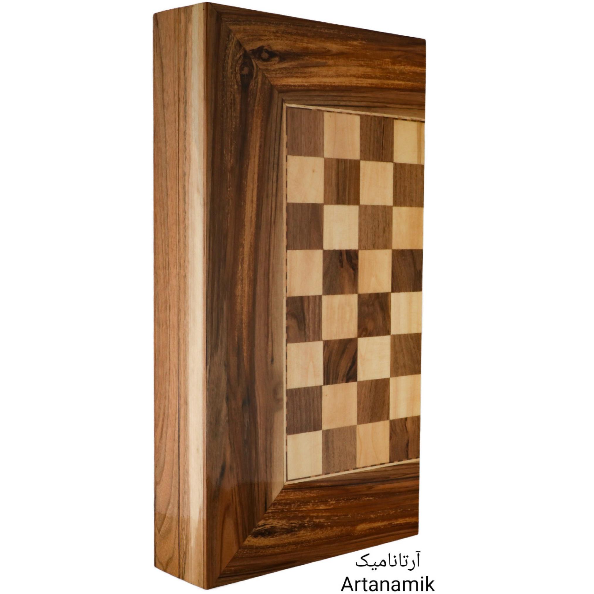 تخته نرد و شطرنج چوب گردو، تخته نرد کادویی و شطرنج کادویی، تخته نرد نفیس و تخته نرد چوبی