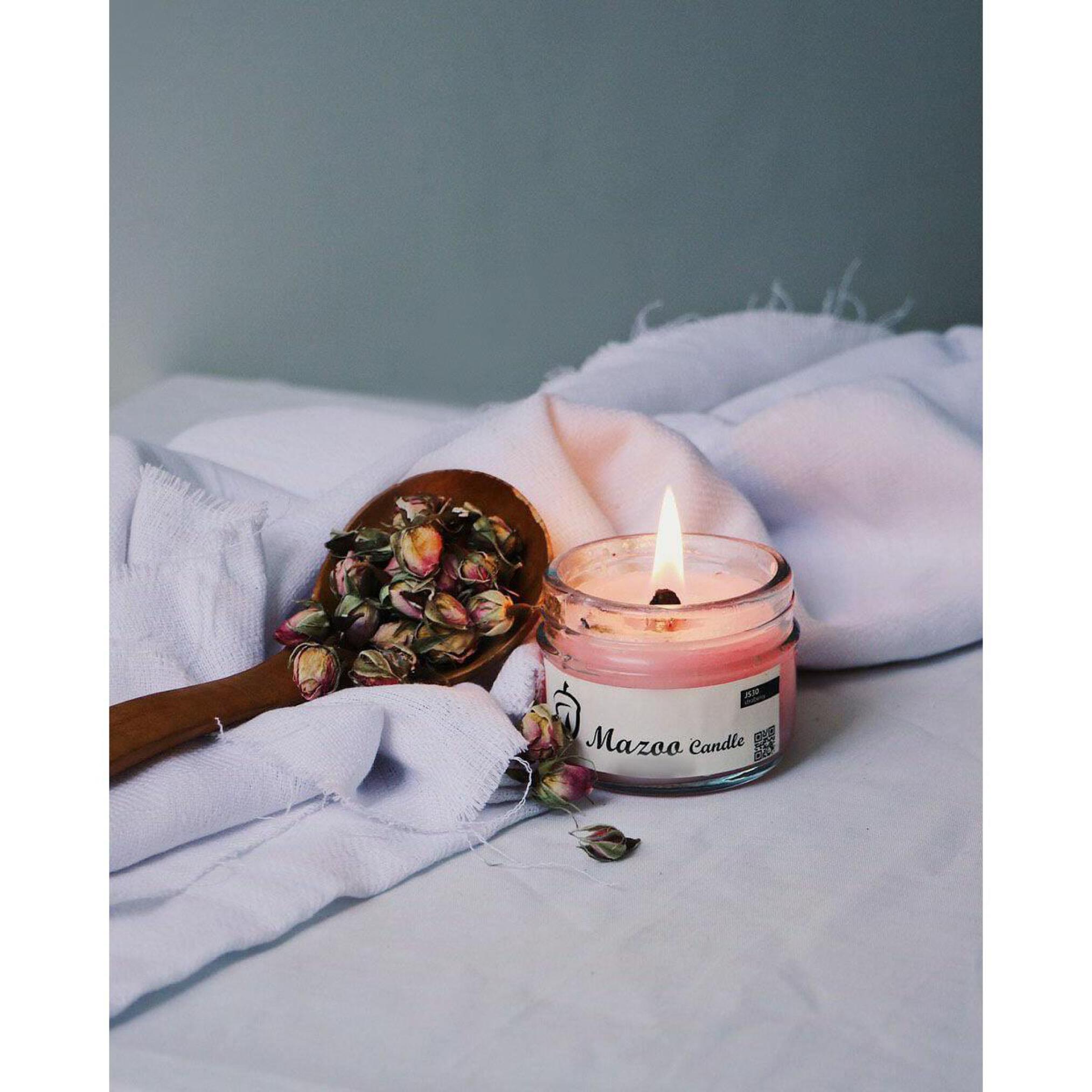 خرید شمع معطر با فیتیله چوبی و رنگ ها و رایحه های مختلف، شمع با کیفیت، شمع دکوری