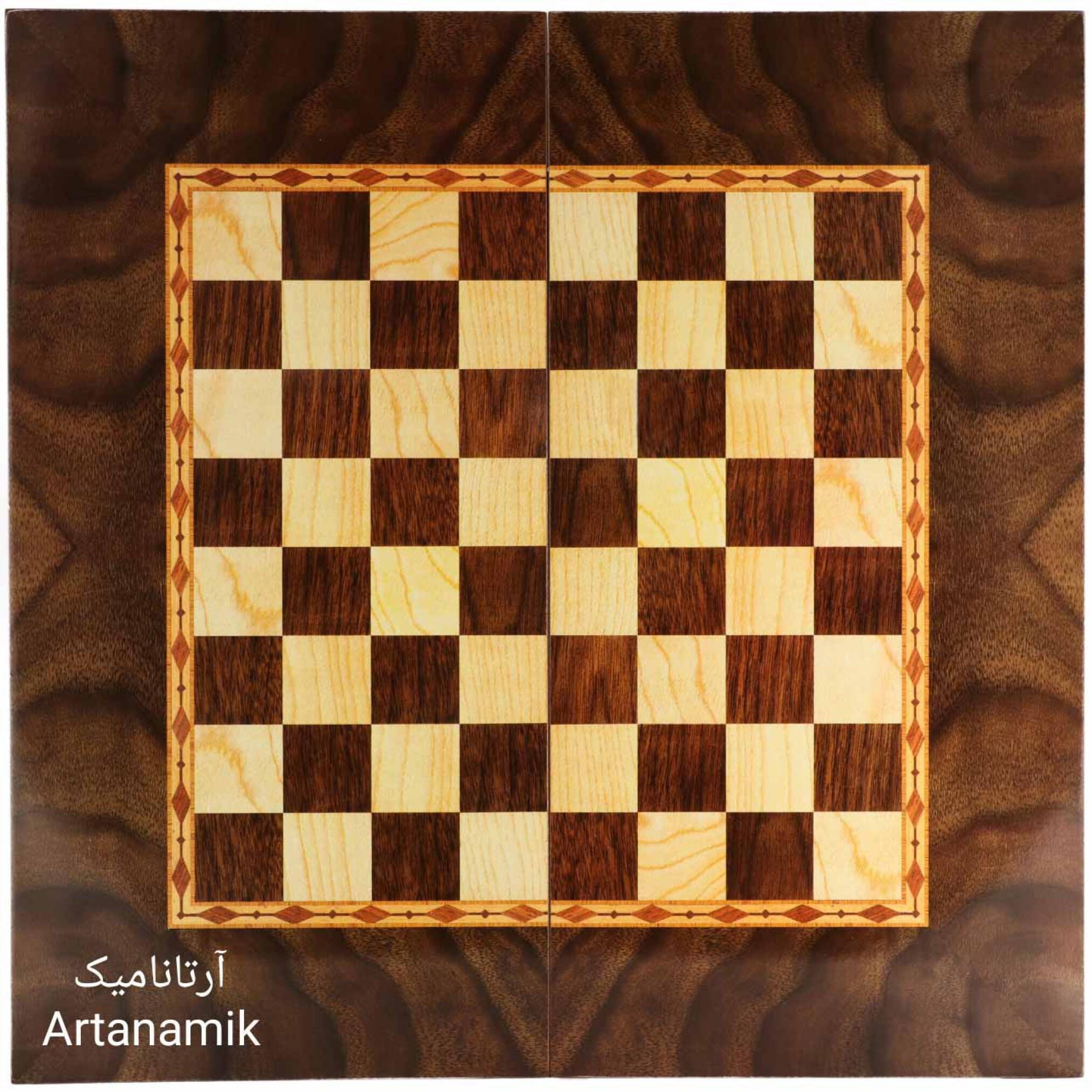 شطرنج طرح گردو، تخته نرد کادویی و تخته نرد نفیس از جنس MDF
