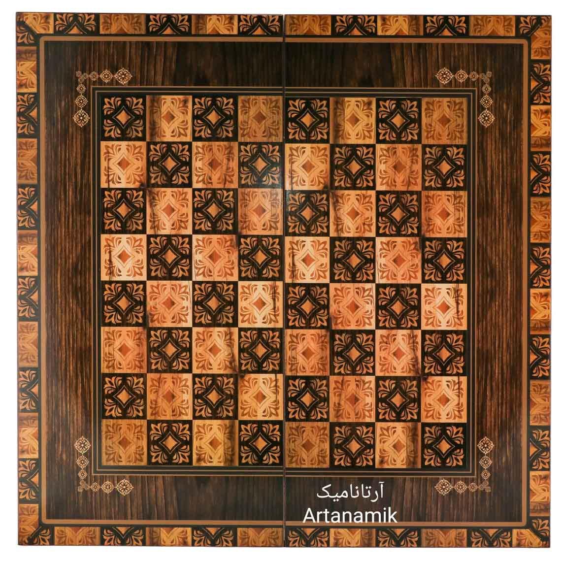 شطرنج طرح پارسی، شطرنج کادویی و شطرنج نفیس از جنس MDF