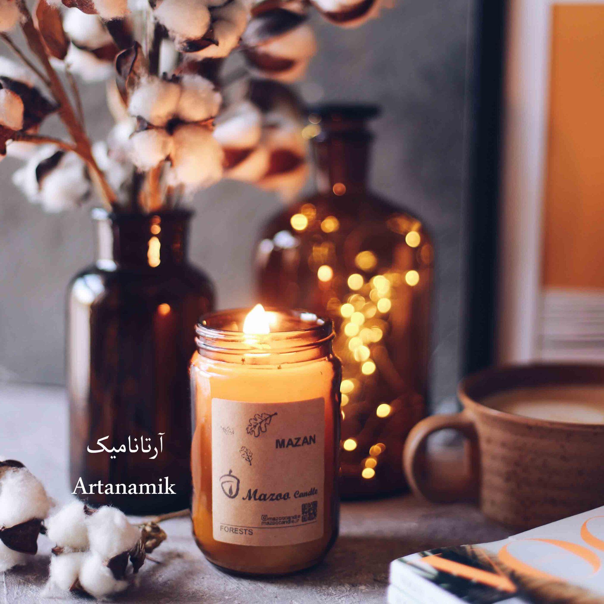 خرید شمع معطر با رایحه های مختلف، شمع با کیفیت، شمع دکوری، شمع مینیمال